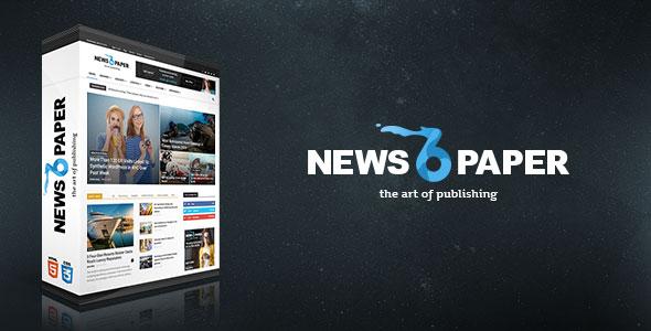 Newspaper v6.6.2 — Responsive WordPress News/Magazine