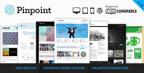 Pinpoint v1.7 — Themeforest Responsive Multi-Purpose WP Theme