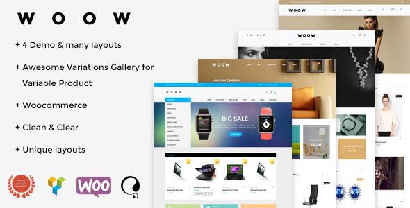 WOOW v1.1.2 — Responsive WooCommerce Theme