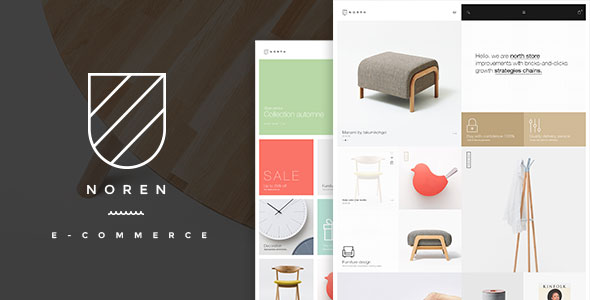 Noren — Shop WordPress WooCommerce Theme