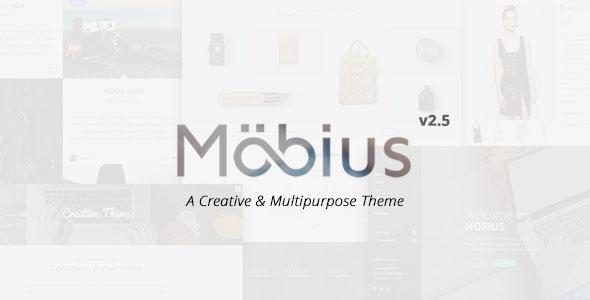 Mobius v2.5 — Responsive Multi-Purpose WordPress Theme