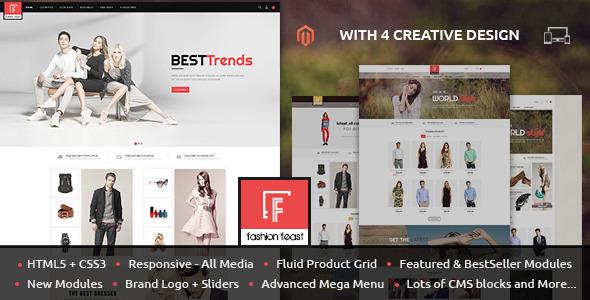 Fashion Feast — Magento Responsive Theme