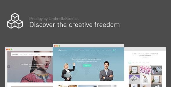 Prodigy v1.2.4 — Impressive Multi-Purpose WordPress Theme
