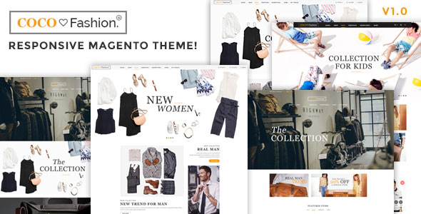 Coco — Fashion Responsive Magento Theme
