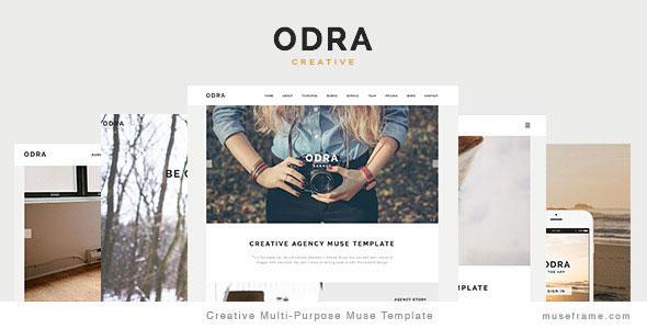 ODRA — Creative Multi-Purpose HTML Template