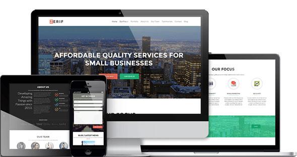 Zerif Pro — Business WordPress Theme