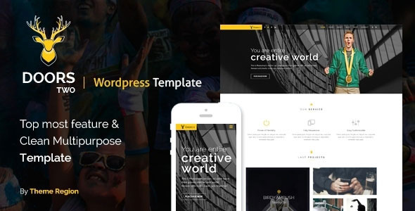 Doors Two — Multipurpose WordPress Theme