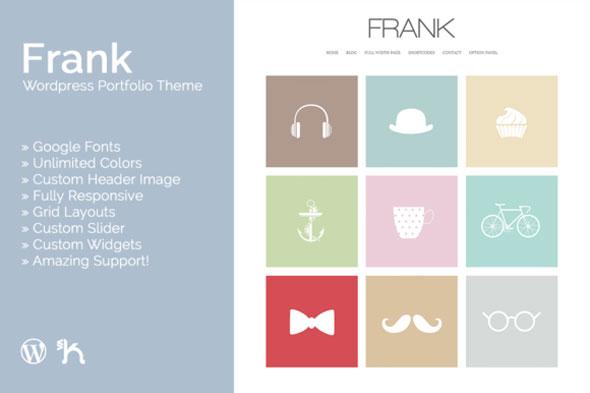 Frank — WordPress Portfolio Theme
