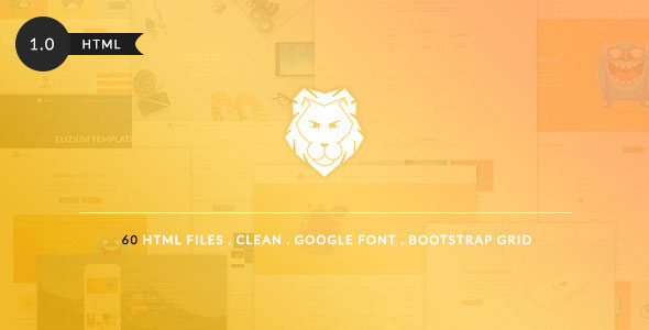 The Lion — Grand Multi-Purpose Bootstrap Template