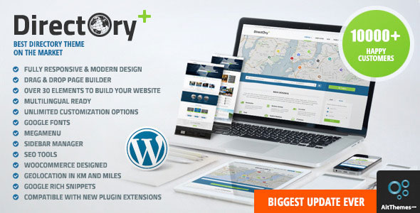 Directory Portal v1.28 — WordPress Theme