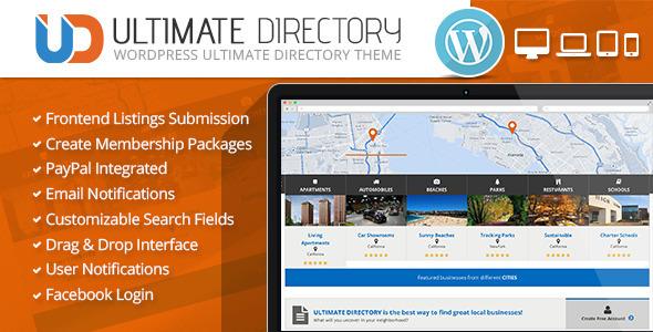 Ultimate Directory v2.1.0 — Responsive WordPress Theme