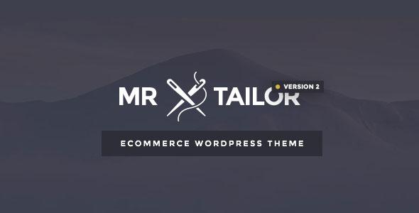 Mr. Tailor v2.0 — Responsive WooCommerce Theme