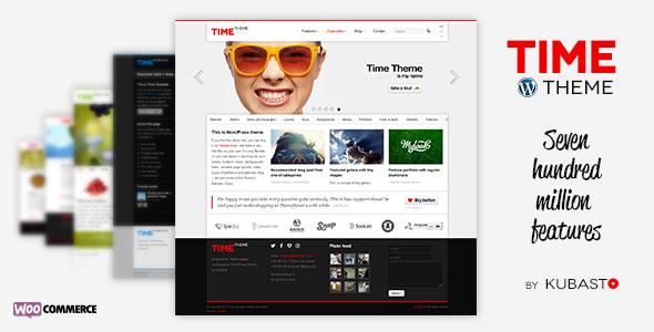 Time v4.0 — Themeforest Responsive WordPress Theme
