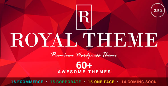 Royal v2.5.2 — Multi-Purpose WordPress Theme