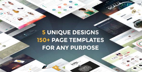 Scalia — Multi-Concept Business, Shop, One-Page, Blog Theme