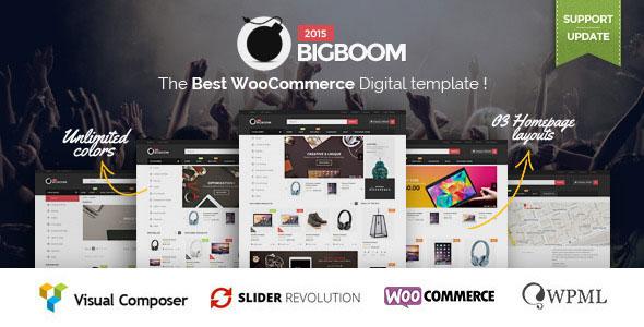 Bigboom v1.1.8 — Responsive Ecommerce WordPress Theme