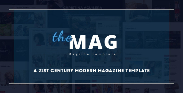 TheMag — A News and Magazine HTML Template
