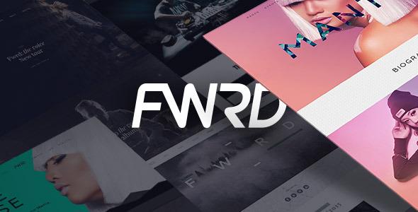 FWRD — Music Band & Musician WordPress Theme