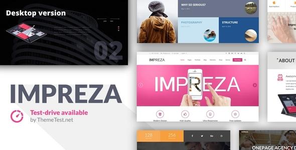 Impreza v2.7 — Retina Responsive WordPress Theme