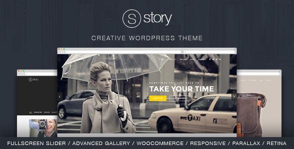 Story v1.8.0 — Creative Responsive Multi-Purpose Theme