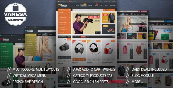 Vanesa — Mega Store Responsive Magento Theme