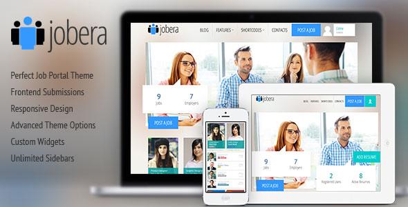 Jobera v3.0 — Themeforest Job Portal WordPress Theme
