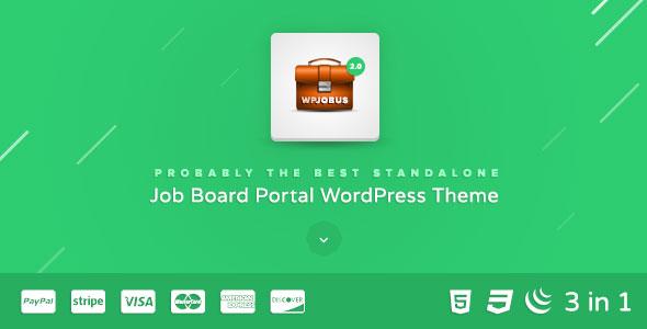 WPJobus v2.0.9 — Job Board and Resumes WordPress Theme