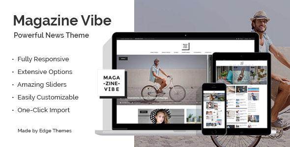 Magazine Vibe — A Powerful News & Magazine Theme