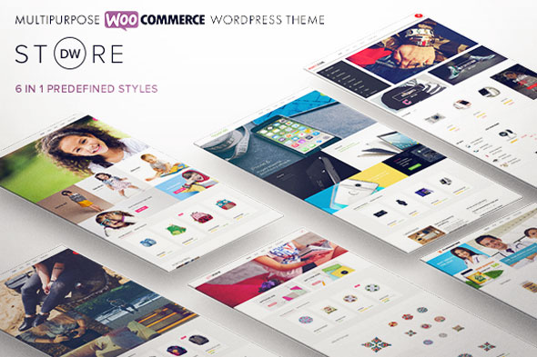 DW Store — Multipurpose WooCommerce