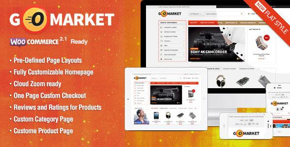 GoMarket v1.1.8 — Themeforest WooCommerce Supermarket Theme