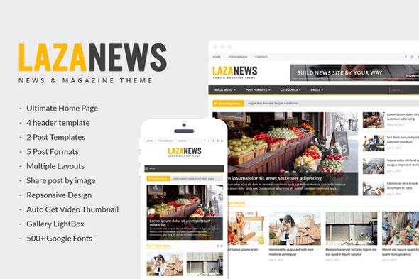 LazaNews — News, Magazine, Newspaper