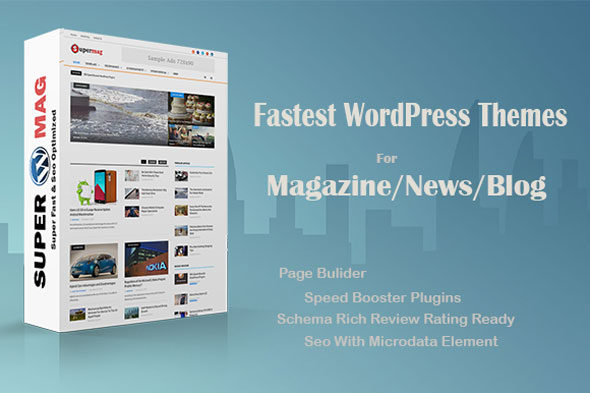 Supermag — Fast Material Magazine Theme
