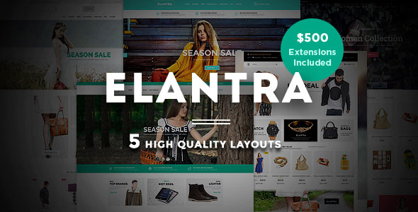 Elantra — Advanced Responsive Magento Theme