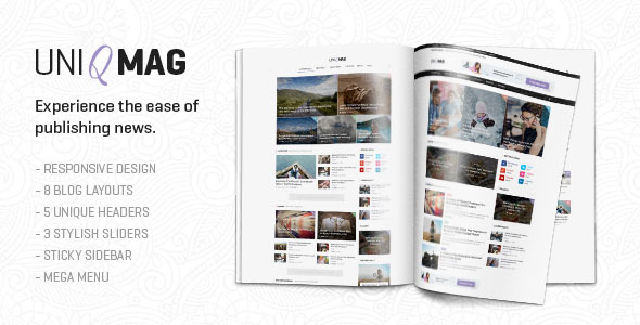 UniqMag — Ease of Publishing News