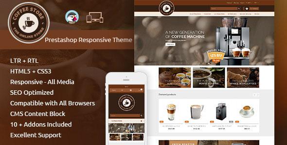 Coffee — Prestashop Responsive Theme