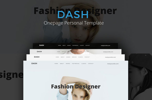 Dash — Onepage Personal (Sale)