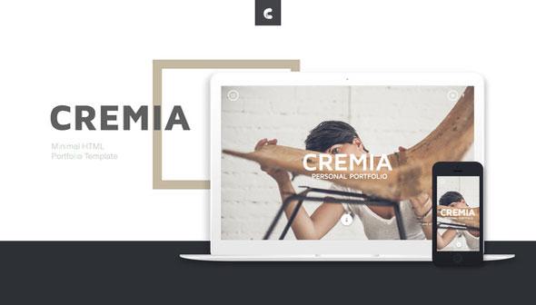 Cremia — Portfolio HTML