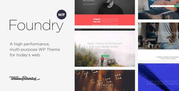 Foundry v1.8.9 — Multipurpose, Multi-Concept WP Theme