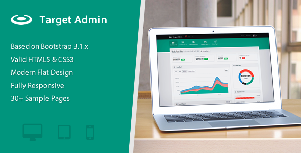 Target — Responsive Bootstrap 3 Admin Template
