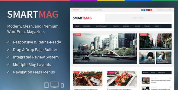 SmartMag v2.6.2 — Themeforest Responsive & Retina WP Magazine