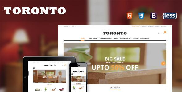 SNS Toronto — Premium Responsive Magento Theme
