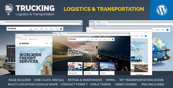 Trucking v1.1 — Transportation & Logistics WordPress