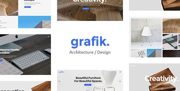 Grafik v1.1 — Portfolio, Design & Architecture Theme