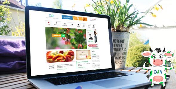 Diet & Nutrition Health Center v2.0.1 — WordPress Theme