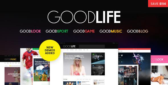 GoodLife v1.1.0 — Responsive Magazine Theme
