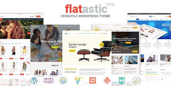 Flatastic v1.4.5 — Themeforest Versatile WordPress Theme