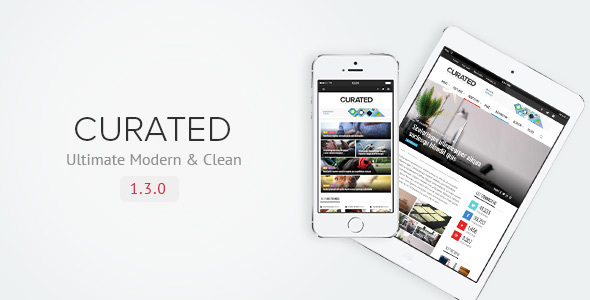Curated v1.3.0 — Ultimate Modern Magazine Theme