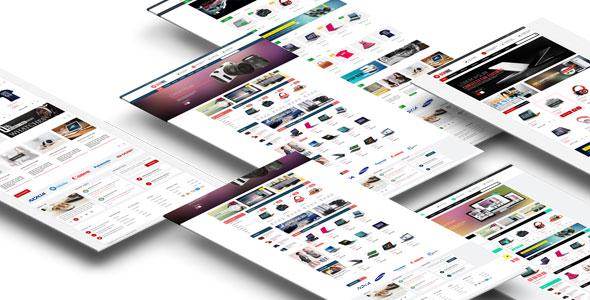 Bonnie — Multipurpose Responsive OpenCart Theme