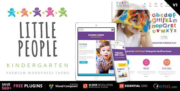 Little People — Kindergarten WordPress Theme