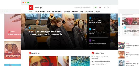 NewEdge v1.4 — Joomshaper Responsive Joomla Magazine
